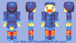 April Showers || Squishy's Springtime Skin Contest Minecraft Skin