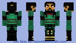 Hattori Hanzo, the Demon Samurai/Ninja Minecraft Skin