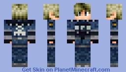 Leon S. Kennedy RE2 Remake (READ DESC.) Minecraft Skin