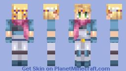 Caesar ~ Jojo's Bizarre Adventure Minecraft Skin
