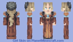 Woman of the Renaissance Minecraft Skin