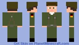 West-German Soldier Minecraft Skin