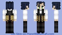 Sherlock Holmes (Ruler) シャーロック・ホームズ Fate/GrandOrder Minecraft Skin