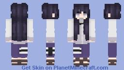 hinata - naruto Minecraft Skin