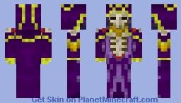 Ainz Ooal Gown / Momonga / Momon Minecraft Skin