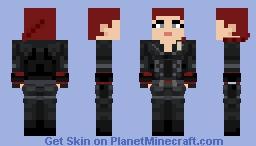 Black Widow - Avengers: Endgame Minecraft Skin