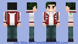 Dc's Beast boy Minecraft Skin