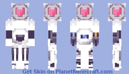 ATLAS [Portal 2] (Bedrock Edition) (3D!) (Transparent) (Desc.) Minecraft Skin