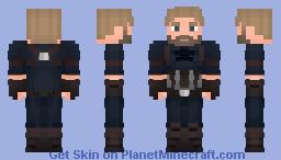 Captain America - Infinity War (Nomad) Minecraft Skin