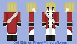 APH - England (American Revolution AU) Minecraft Skin