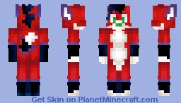 Majira Strawberry Furry Skin Minecraft Skin