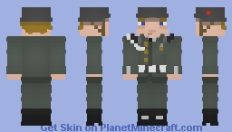 East German Soldier - Historical (Shaded)