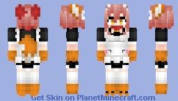 Tamamo Cat (Berserker) タマモキャット Fate/Grand Order Minecraft Skin