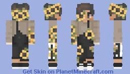 Flower 🌼 addict Minecraft Skin