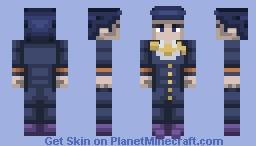 Josuke Higashikata | Diamond is Unbreakable Minecraft Skin
