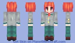 spiky haired son Minecraft Skin