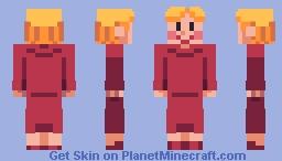 EarthBound - Ness's Mother Minecraft Skin