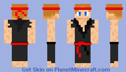 Recomended Blackbelt me Minecraft Skin