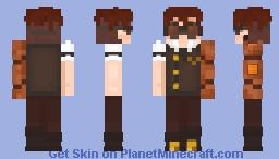 Steampunk (for a contest) Minecraft Skin