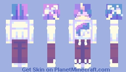 Unicorn Guy 𝔓𝔬𝔭𝔯𝔢𝔢𝔩 Minecraft Skin
