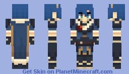 Legendary Marth - Fire Emblem: New Mystery of the Emblem (REMADE, Link in description) Minecraft Skin