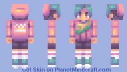 aesthetic (fs) Minecraft Skin