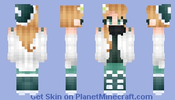 misfortune of the sky || rce Minecraft Skin