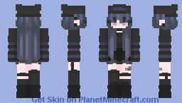 Emo-ish Girl Minecraft Skin