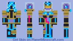 Kamen Rider Fourze- Aquarius Zodiarts Minecraft Skin