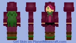 Beet cookie [cookie run] Minecraft Skin