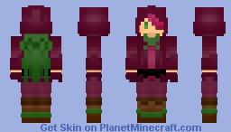 Beet cookie [cookie run] Minecraft Skin