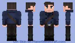 Bucky Barnes - The First Avenger Minecraft Skin