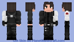 Bucky Barnes - Civil War Minecraft Skin
