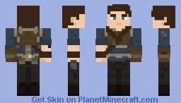 Cal Kestis - Star Wars: Jedi: Fallen Order Minecraft Skin