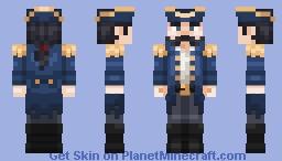 Captain Albert Alexander - Steam Powered Giraffe Minecraft Skin