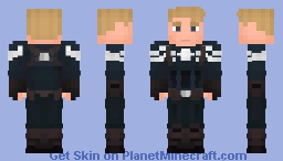 Captain America - Winter Soldier Minecraft Skin