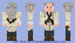 The Walking Dead Carol skin! Minecraft Skin