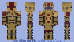 adeptus custodes (my version) Minecraft Skin