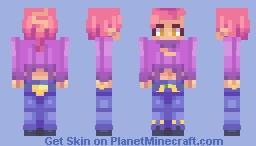 Doppio Vinegar「Golden Wind」 Minecraft Skin