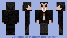 Transylvanic Vampire Minecraft Skin
