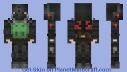 Stalker Duty SEVA Suit Minecraft Skin