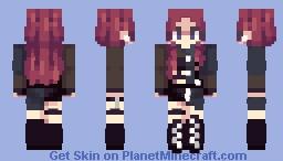 Kill this love - Jisoo Minecraft Skin