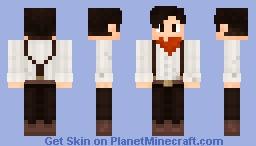 Cowboy (request) Minecraft Skin