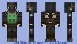 Stalker Loner SEVA Suit Minecraft Skin