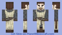 A Simple Knight Minecraft Skin