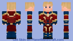 Captain Marvel - Mar Vell (MCU Inspired) Minecraft Skin