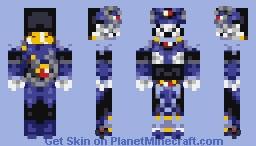 Metal Shark Player [mmx6] Minecraft Skin