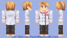 Chef Slazo Minecraft Skin