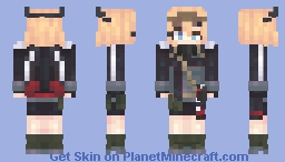 Project Ceris - Me-262 Minecraft Skin