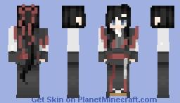 Wei Wu Xian - from { Mo Dao Zu Shi } Minecraft Skin